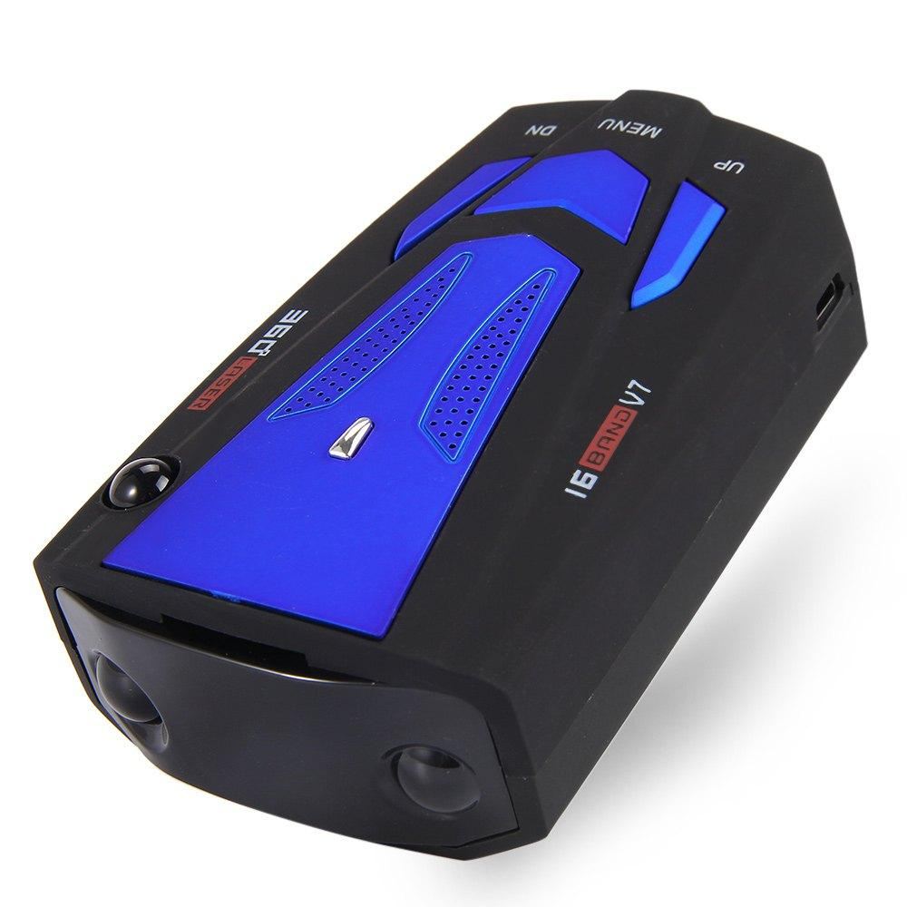 360 Degree Laser, Radar Detector