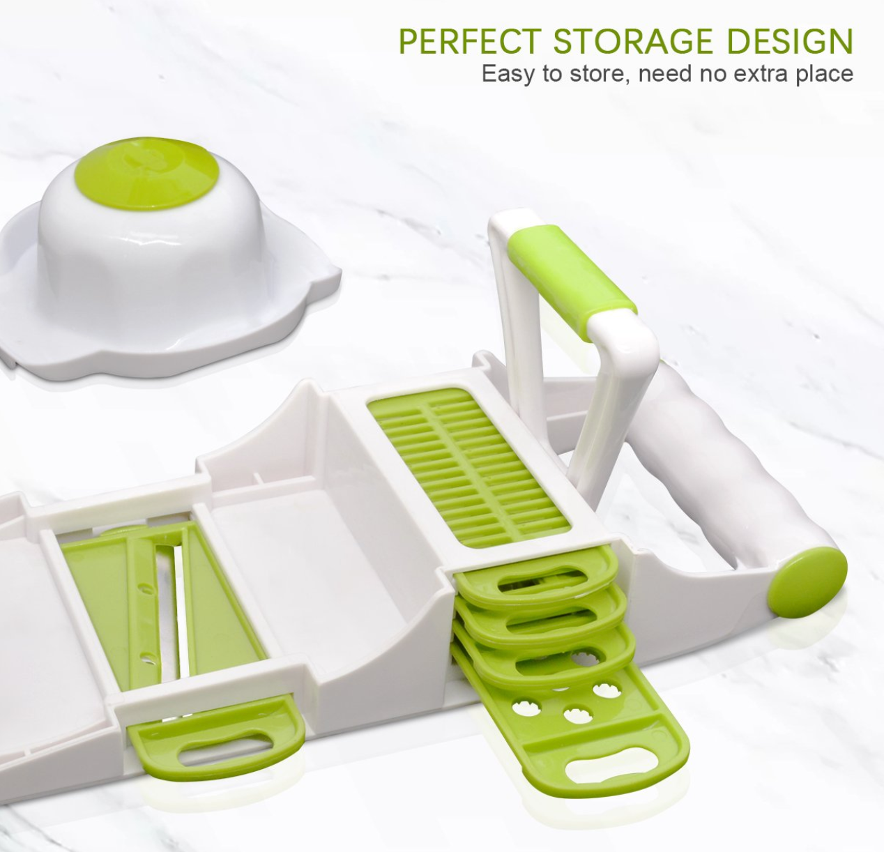 EasyGuard™ Mandoline Vegetable Slicer [2019 Editor Choice]
