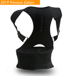[PREMIUM] Magnetic Posture Corrective Therapy Back Brace For Men & Women [Limited Stock]