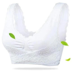 EzzyLIFT™ Wireless Front Cross Buckle Lace Lift Bra [Limited SALE: Pay 2 Get 3]
