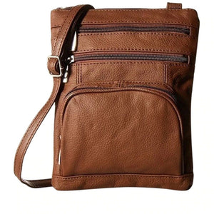 (Last day 70% OFF) Premium Soft Leather Crossbody Bag [Spring SALE: Pay 2 Get 3]