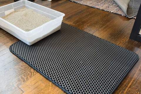 Double Layer Larger Size Cat Litter Mat