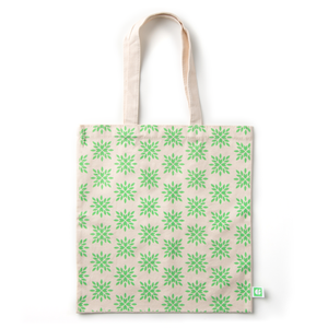 GoGreenBags 3 Pack Reusable Bags: Organic Cotton Totes