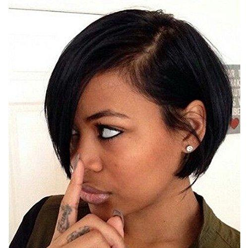 Short Bob Synthetic Lace Front Wig