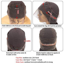 Load image into Gallery viewer, Nivarna 360 Lace Frontal Wig Peruvian Body Wave Human Hair Wig