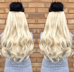 One piece clip in extensions- Curly - Pdollpalace