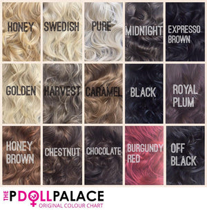 Amanda Half Head Hairpiece - Pdollpalace