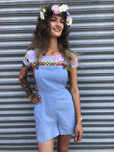 Denim Pinafore