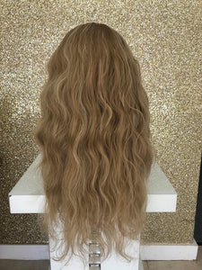 Beach wave half head hairpiece - 60.12 - Pdollpalace
