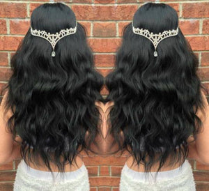 Beachwave Half Head Hairpiece - Pdollpalace