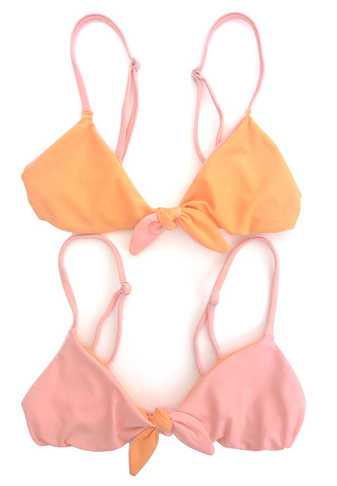 The Kirra Top in Marigold and Melon