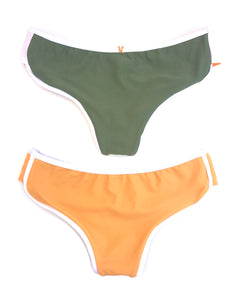 The Kelly Bottom in Marigold and Olive