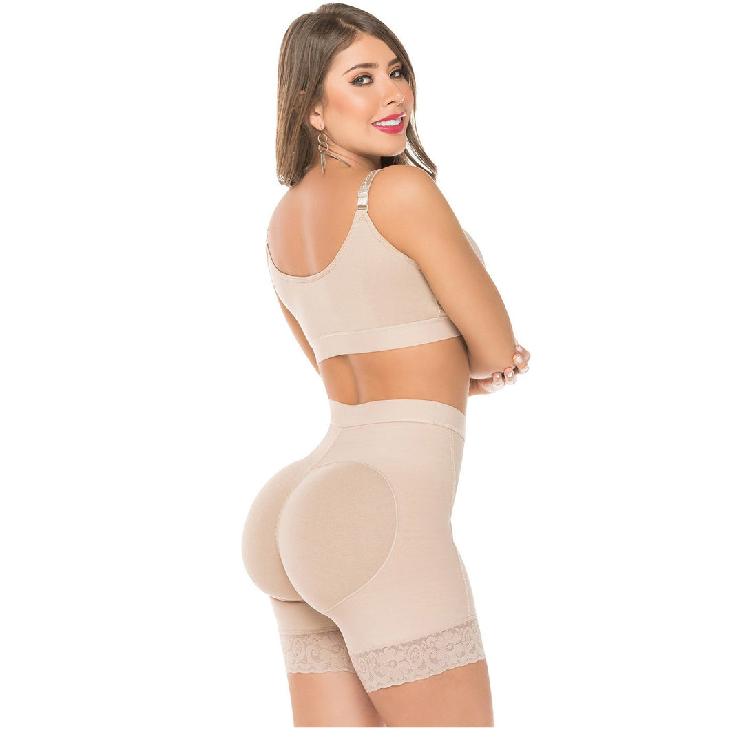 Faja Colombiana Short Levanta Cola Moldea Gluteos High Waitsted Butt lifter