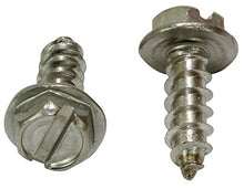 Load image into Gallery viewer, Stainless Slotted Hex Washer Head Screw, 18-8 (304) Stainless Steel Screw Coose Size & QTY