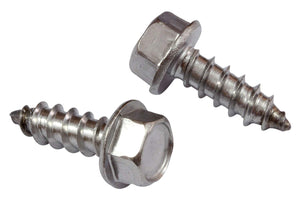 Stainless Indented Hex Washer Head Screw, Choose Size/Quantity, 18-8 (304) Stainless Steel Screw