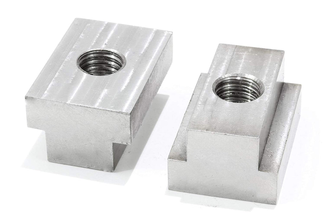Made in The USA Aluminum T Slot Nuts 3//8-16 Thread 4 Pack JQuad Fit Toyota Tacoma /& Tundra Pickup Bed Rails
