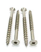 Load image into Gallery viewer, Stainless Deck Screws, Choose Size/Length & QTY, Square Drive, Type 17 Wood Cutting Point