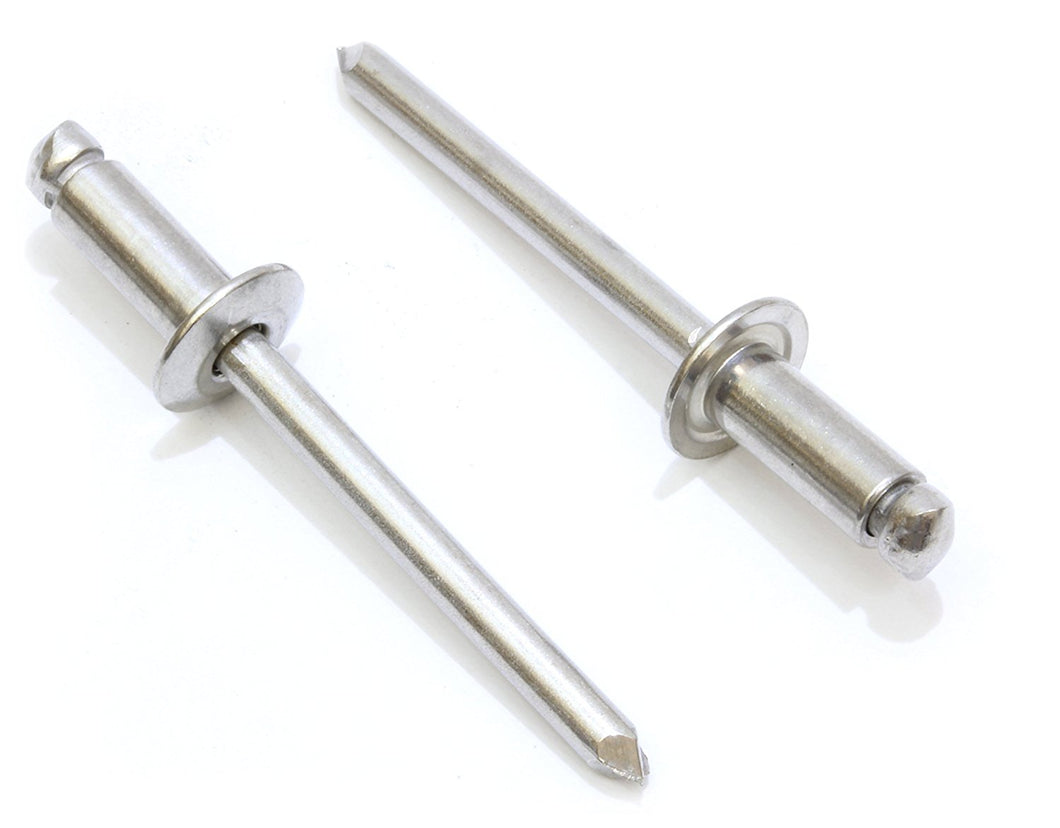 Rivets Stainless Steel, Choose Size/Quantity, By Bolt Dropper
