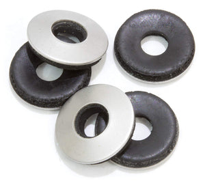 Neoprene Backed Stainless EPDM Washers, Choose Size & QTY, By Bolt Dropper