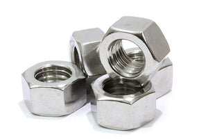 Stainless Hex Nut, 304 18-8 Stainless Steel Nuts Choose Size & QTY