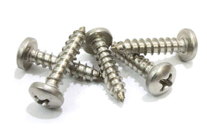 Stainless Pan Head Phillips Wood Screw, (Choose Size & QTY), 18-8 (304) Stainless Steel Screws By Bolt Dropper