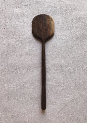 Hand-carved Walnut Spatula