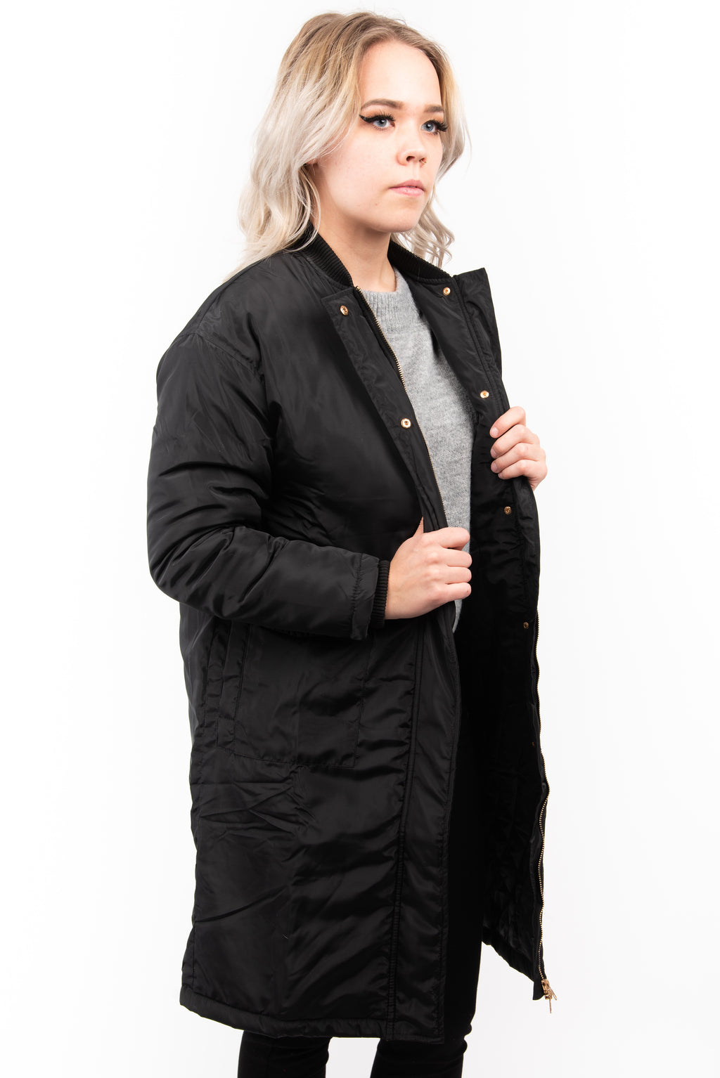 Sage the Label Long Puffer Coat