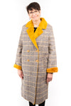 Molly Bracken Houndstooth Woven Coat