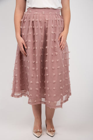 Pink Martini Wool Skirt