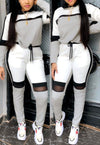 Fashion casual sports suit A