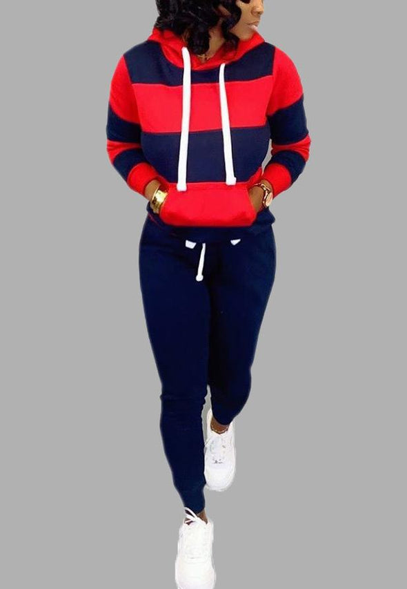 Cute sports and leisure sweater two-piece suit A