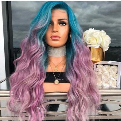 Gradient Dyed Long Micro Wig