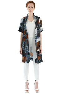 Women's silk organza jacket
