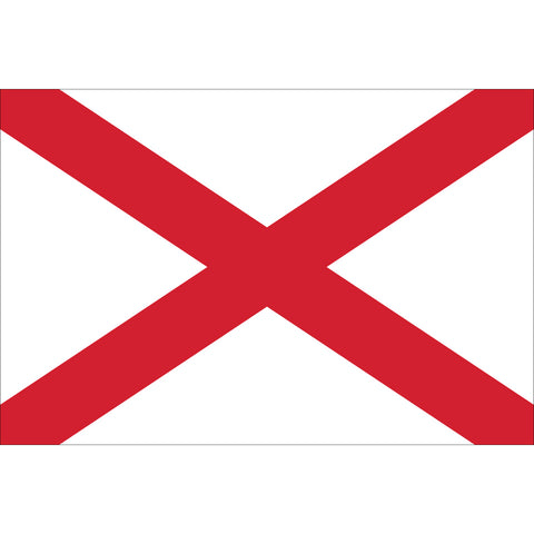 Alabama State Flag Outdoor Nylon
