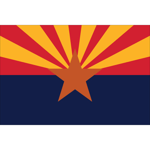 Arizona State Flag Outdoor Nylon