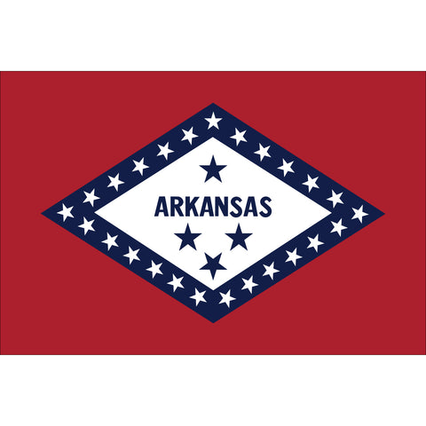 Arkansas State Flag Outdoor Nylon