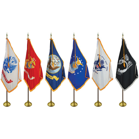 US Military Indoor and Parade Flags