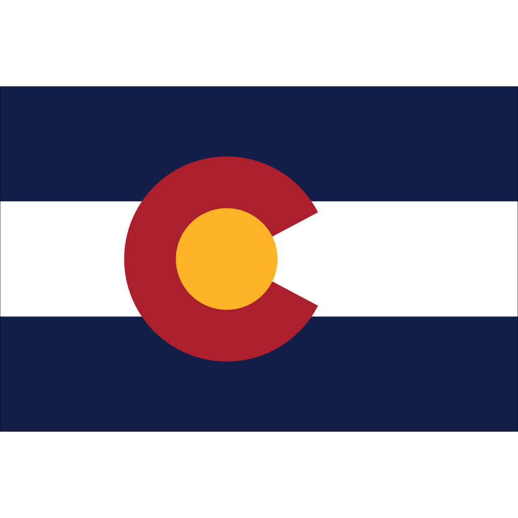Colorado State Flag Outdoor Nylon