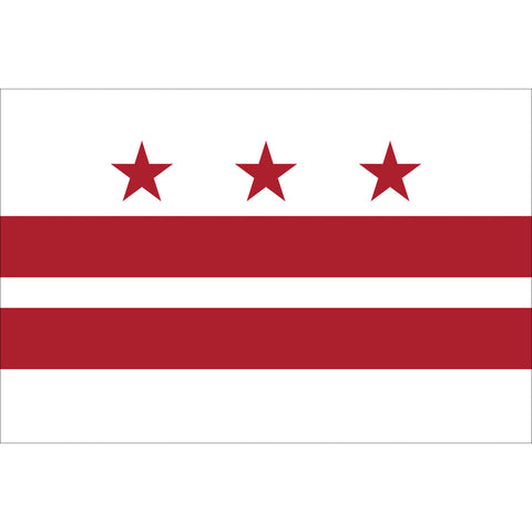 District of Columbia Flag Outdoor Nylon