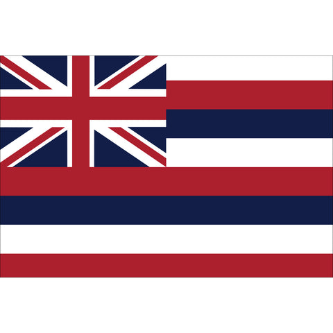 Hawaii State Flag Outdoor Nylon