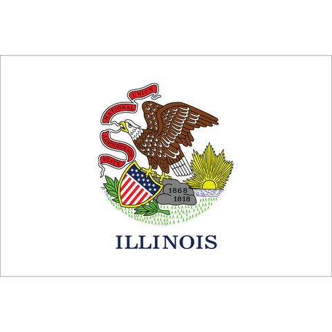 Illinois State Flag Outdoor Nylon