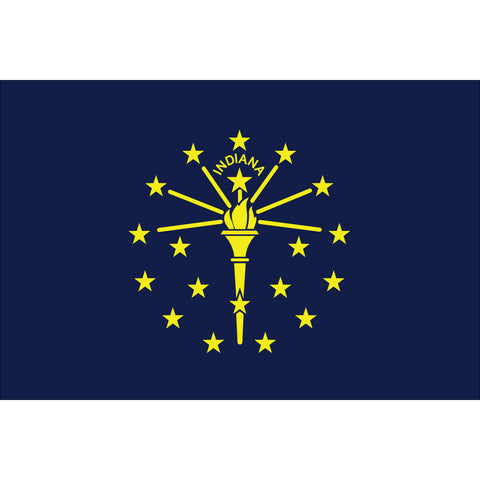 Indiana State Flag Outdoor Nylon