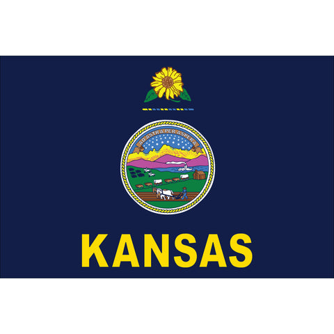 Kansas State Flag Outdoor Nylon