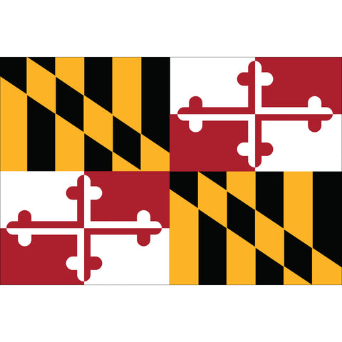 Maryland State Flag Outdoor Nylon