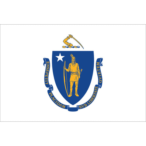 Massachusetts State Flag Outdoor Nylon