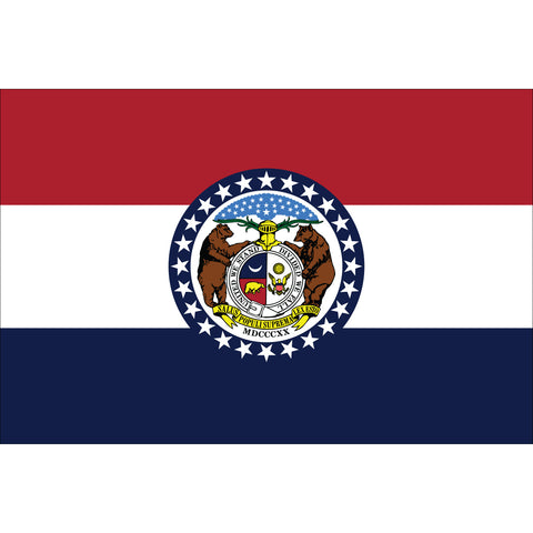Missouri State Flag Outdoor Nylon