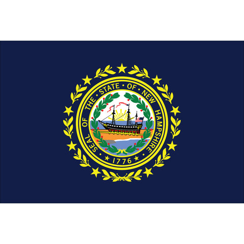 New Hampshire State Flag Outdoor Nylon
