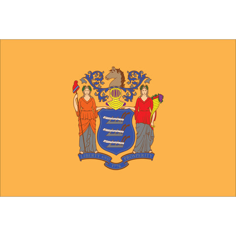 New Jersey State Flag Outdoor Nylon