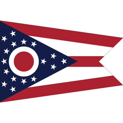 Ohio State Flag Outdoor Nylon