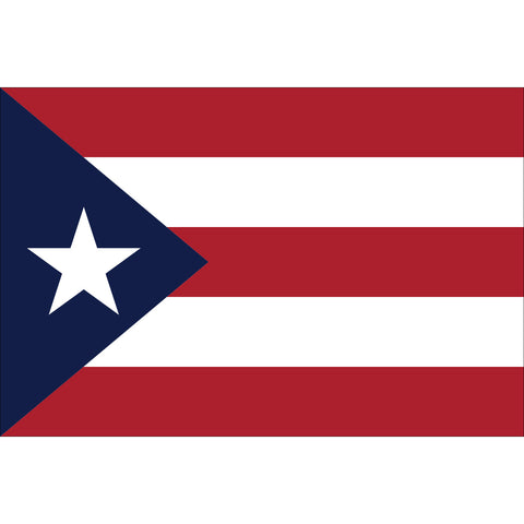 Puerto Rico Flag Outdoor Nylon